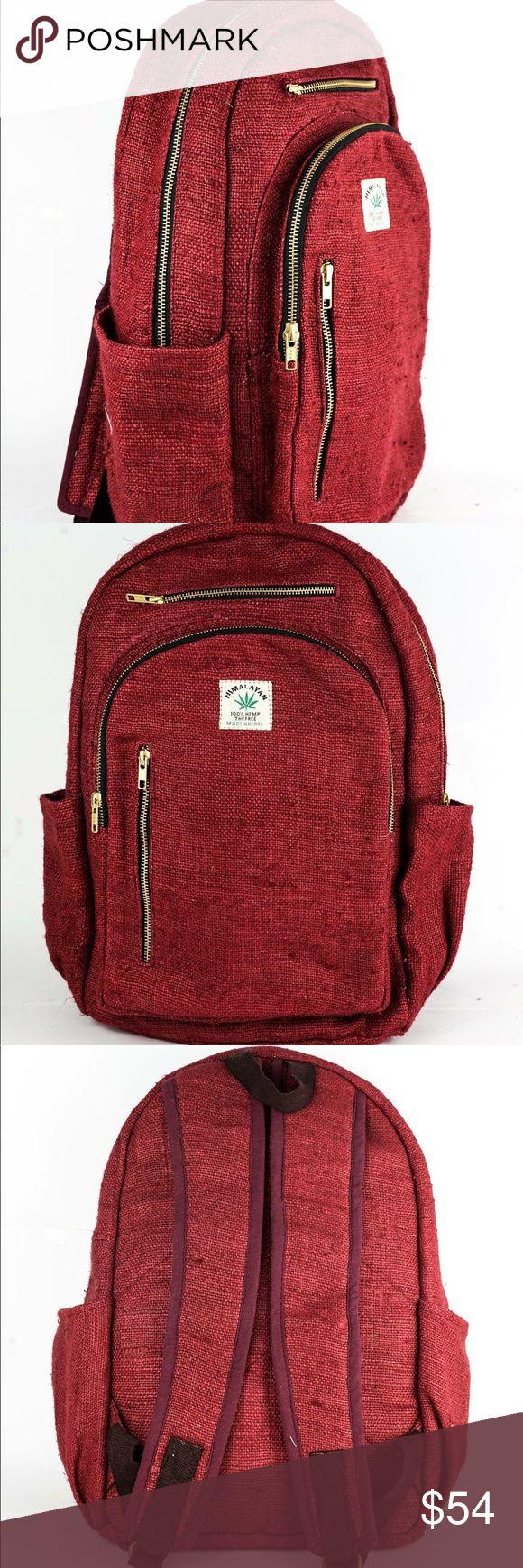 Full Sized – Hemp Boho Backpack – Handmade – Vegan…