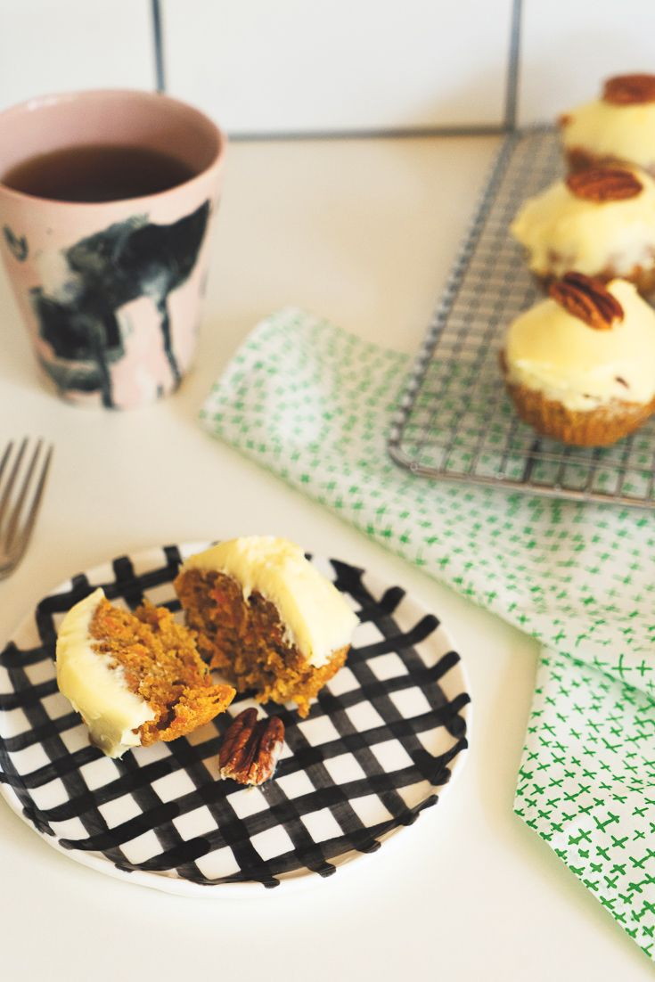 Carrot Cake Muffins featured in Lunch Lady Issue Four. Lunch Lady Magazine available at http://shop.hellolunchlady.com.au/