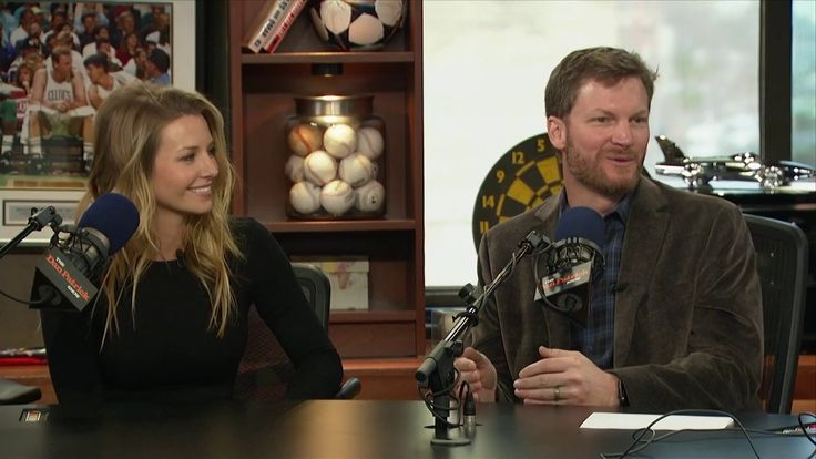 Dale Earnhardt Jr. and his wife Amy take Newlywed Quiz