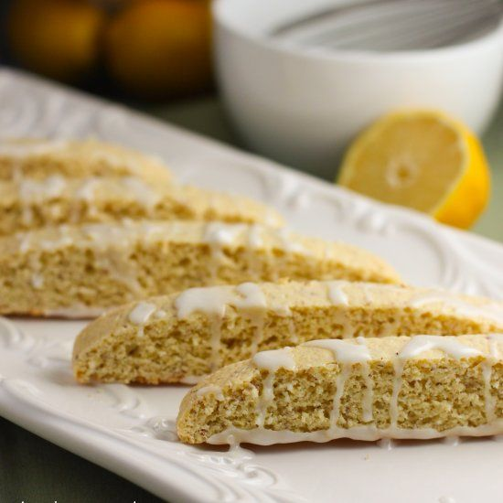 Lemon Biscotti - Fresh and fabulous and did I mention healthy, low fat and easy to make?