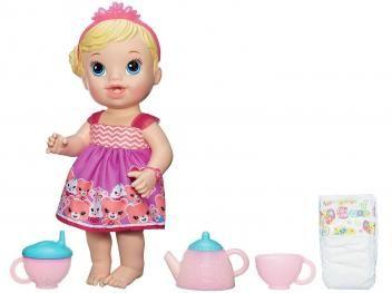 Boneca Baby Alive Hora do Chá Hasbro - Loira R$ 155,90 em até 10x de R$ 15,59 sem juros no cartão de crédito