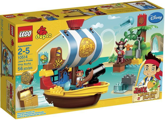 Protect the treasure aboard Jake's Pirate Ship Bucky with the shooting cannon in a pirate adventure featuring Jake and Captain Hook! Stop Captain Hook from sneaking...