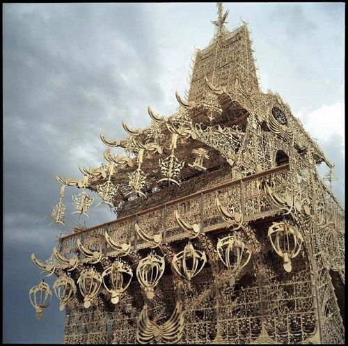 this was my favorite temple at burning man, i think 2005?