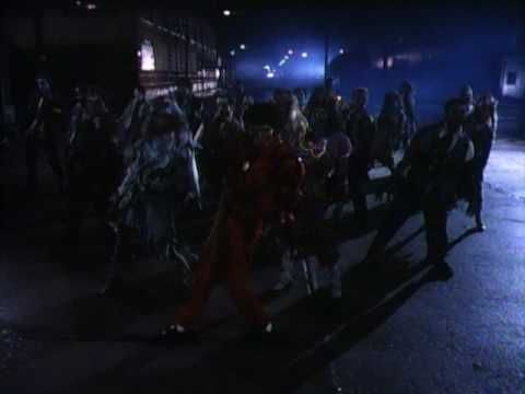 One of the best videos ever made. Still kinda freaks me out!!! Michael Jackson, 'Thriller' (1984)