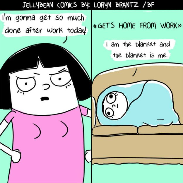 On nights when it doesn't pay to get off the couch. | 17 Times It's OK To Forgive Yourself
