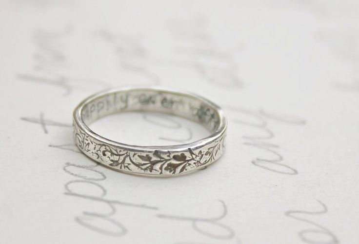 17 Best ideas about Thin Wedding Bands on Pinterest
