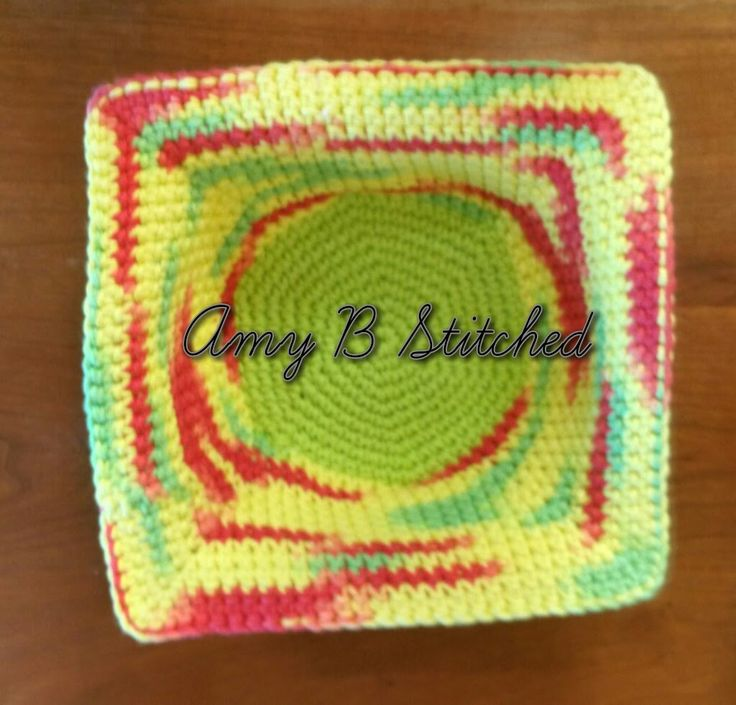 A Stitch At A Time for Amy B Stitched: Bowl Cozy/Hot Pad FREE Crochet Pattern