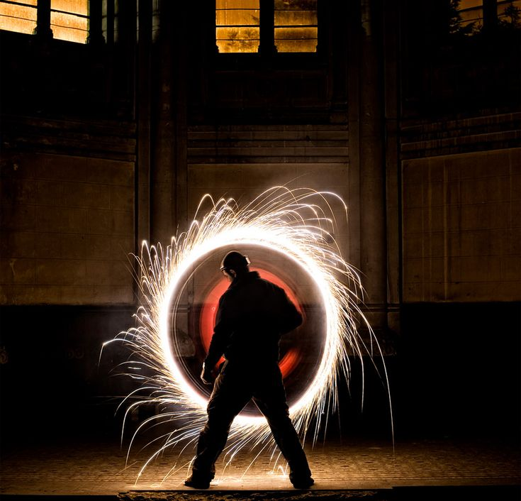 fire-circle: Fire Circles, Stunning Photography, Perfect Circles, Random Photography, Inspiration Photography, Exposure Photography, Circles Fire, Photo, Photography