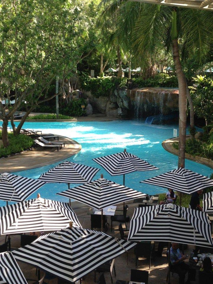 View from the Lobby at the Hilton Phuket Arcadia Resort & Spa in Karon, Thailand