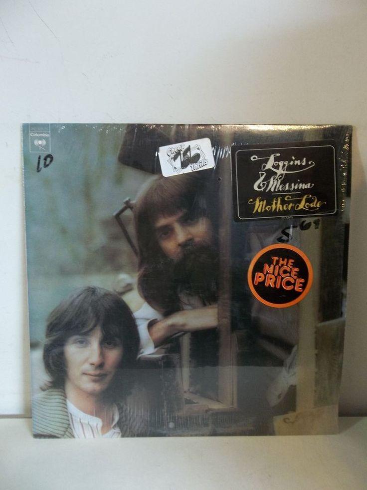"KENNY LOGGINS & JIM MESSINA Mother Lode 1974 LP Vinyl Record PC 33175 12"" Album  #FolkCountryRockSingerSongwriter"