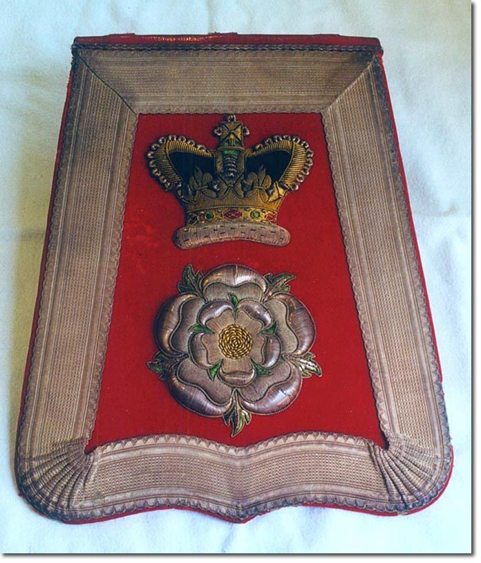 The Yorkshire Hussars officer's sabretache 1900