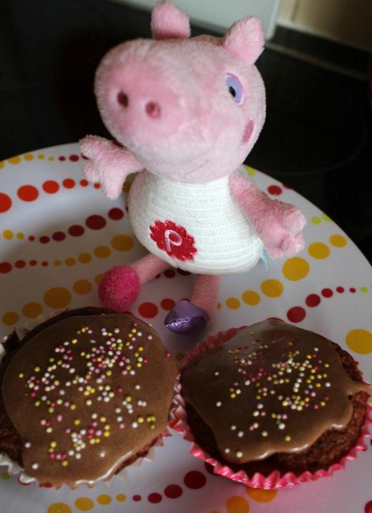 Peppa Pig's Muddy Puddle Cupcakes Baking Recipe