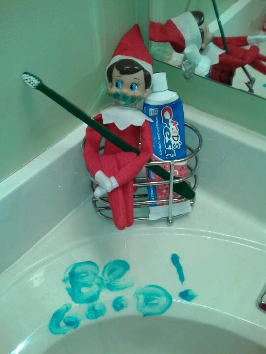 Elf On A Shelf Idea!