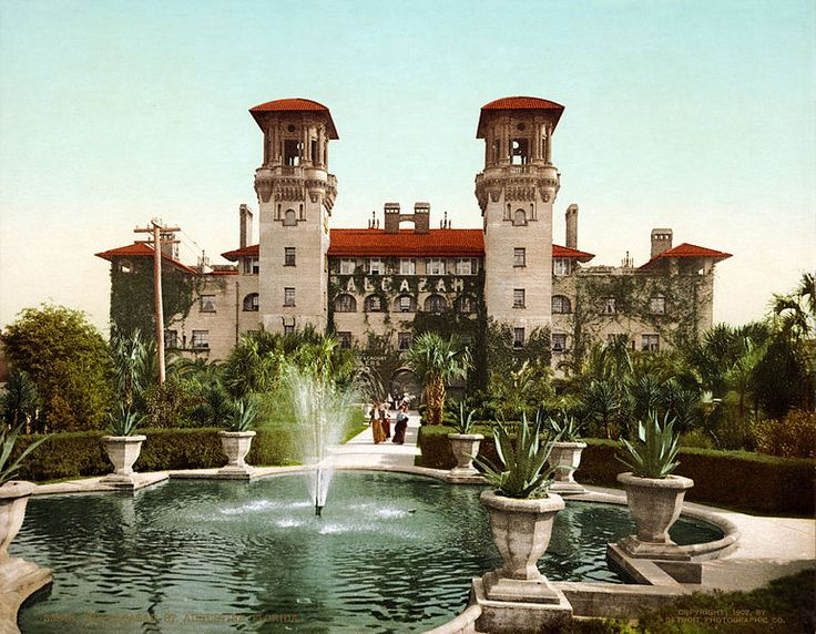 The Former Alcazar Hotel St Augustine Florida Now Lightner Museum Another Gorgeous Old Building In