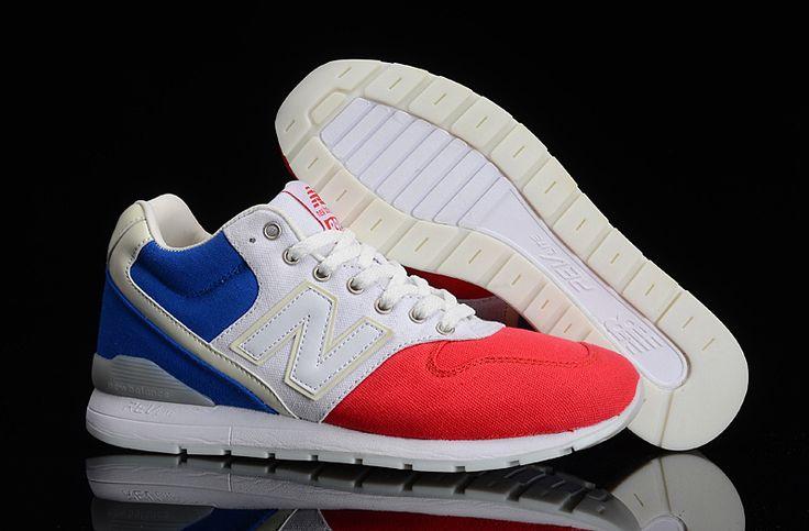 Soldes New Balance 996 Femme rouge et blanc original