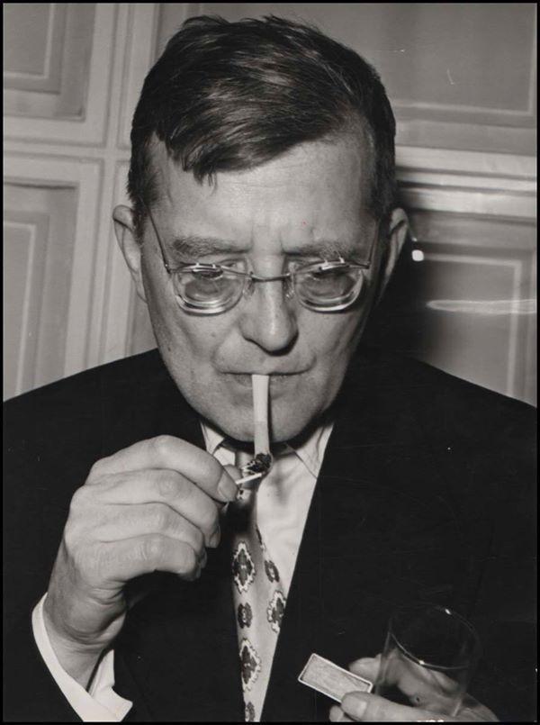 Young Dmitri Shostakovich