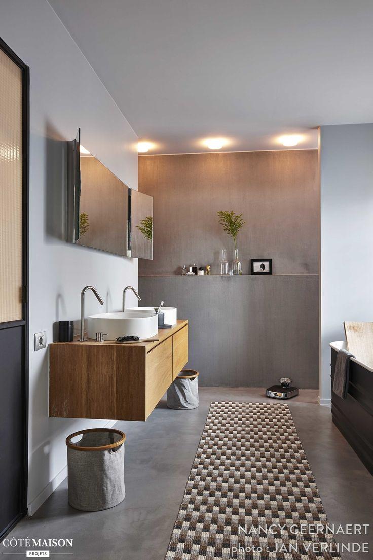 les 399 meilleures images du tableau salle de bain sur pinterest ... - Salle De Bain Maison