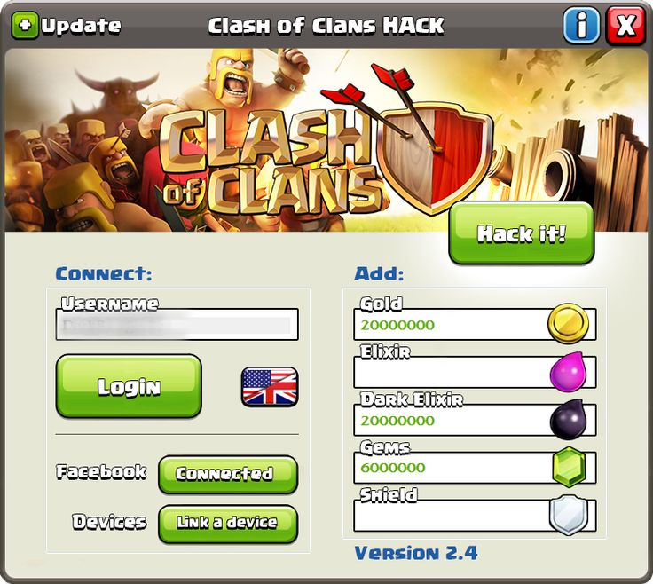 Get unlimited resources with the newest professional Clash of Clans Hack 2016 for Android, iOS and PC. The newest software Clash of Clans hack 2016 was developed by Android-Hack Team with the last version of AHackCreator_v5.1.1 and work great on any mobile operating systems including Android and iOS. Because you just enter on our website we want to give you the best Clash Of Clans Cheat 2016 ever.
