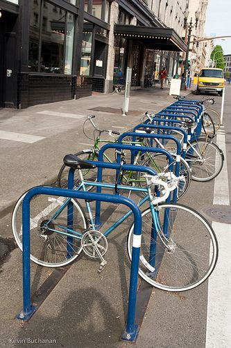 25 best ideas about bike parking on pinterest bike parking rack street furniture and bike - Bike storage small space design ...