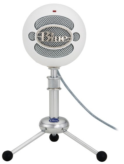 The blue snowball mic is what i use for all my videos and voiceover stuff i do!