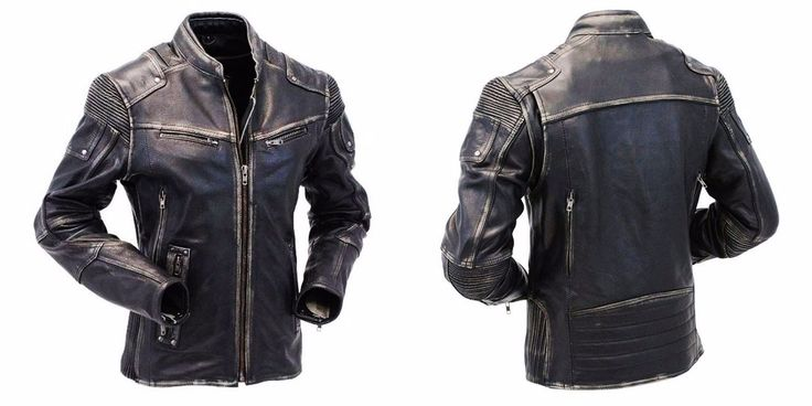 Leather jackets are the sexiest attire since long and men have adorned them with style. This Men's Biker Style Vintage Retro Motorcycle Moto Distressed Leather Jacket is made of Cowhide leather and is durable in all Season. The stand-up collar and the large amount of zipper pockets makes it a must as the pockets come in handy to put in your accessories. Available at our online store in discounted price.  #bikers #bikerboys #lovers #fans #boysfashion #boyscollection #menfashion #shopping…