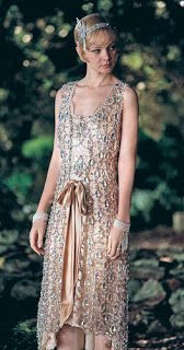 The Great Gatsby (Daisy's party dress made of crystals)