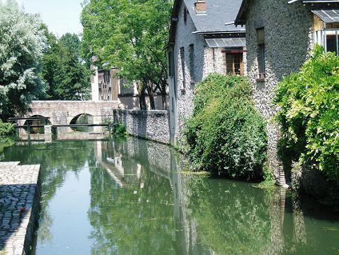 Chartres シャルトル 運河