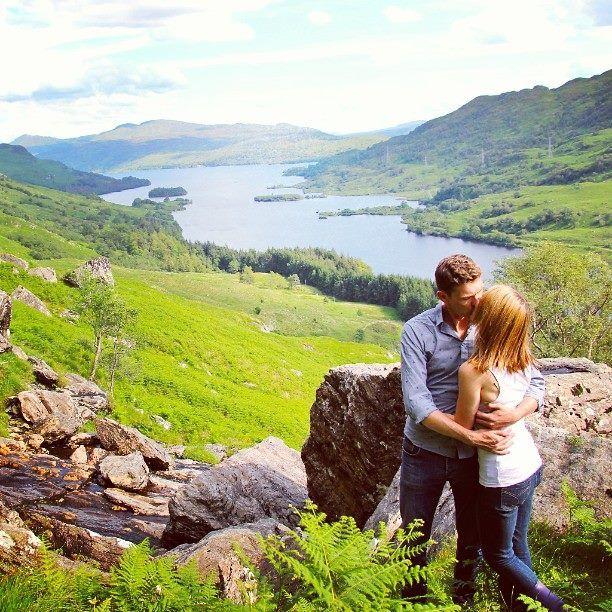 Loch Katrine, Scotland with my love. :)