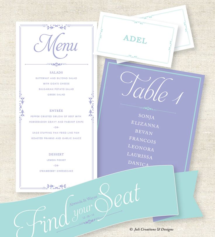 Mint and Lilac wedding stationery  #makeitamomenttoremember