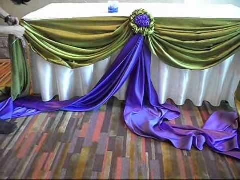 การจับผ้าเเบบช่อดอก - By Suppaluck - YouTube