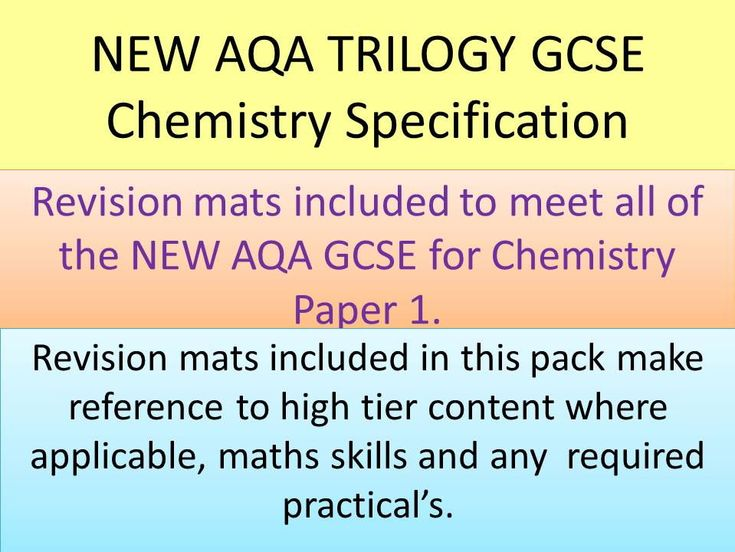 Best 25 aqa chemistry ideas on pinterest biology aqa aqa new aqa 2016 gcse trilogy chemistry revision mats urtaz Image collections