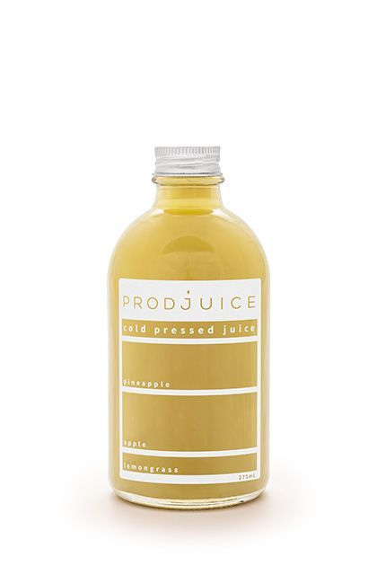Pineapple apple lemongrass   Prodjuice www.prodjuice.com.au