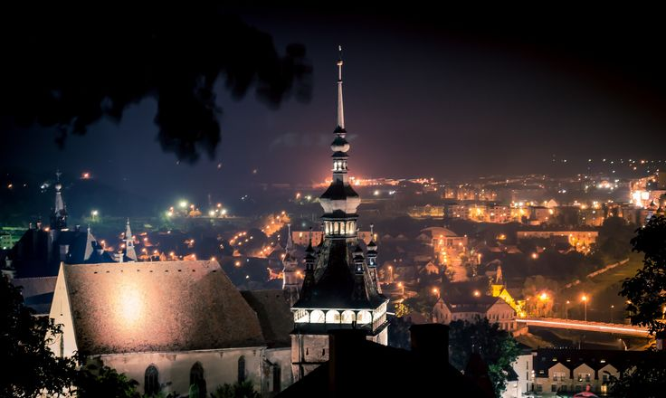 a night at Sighisoara's medieval festival