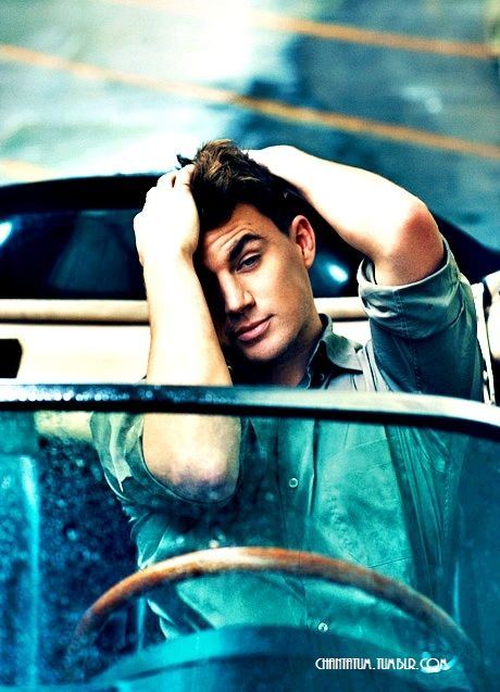 Channing Tatum, id love to wake up to that face every morning :)
