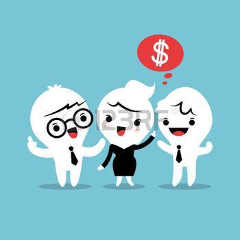 bouche: parrainer un ami renvoi concept illustration de bande dessinée