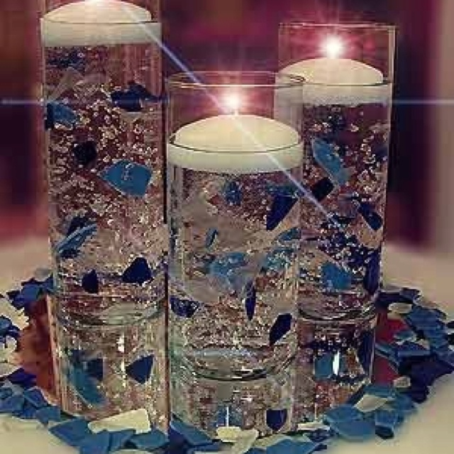 Floating Candles Wedding Centerpieces Ideas Small House Interior