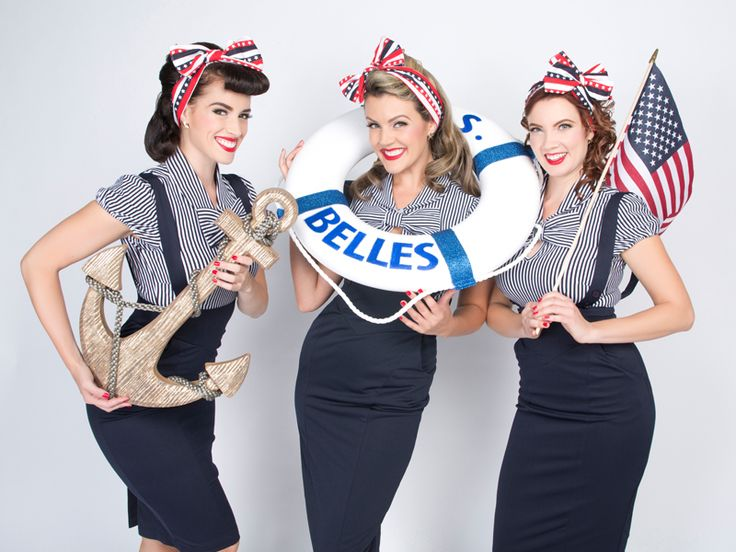 Los Angeles 1940s/50s Style Female Singing Trios, Pinup Girls, Vintage, Andrews Sisters, Puppini Sisters, USO, Event Entertainment, Carolers, Holiday Singers