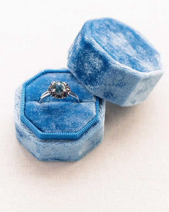Engagement Must Have! Gorgeous Velvet Ring Boxes by Secret Keeper