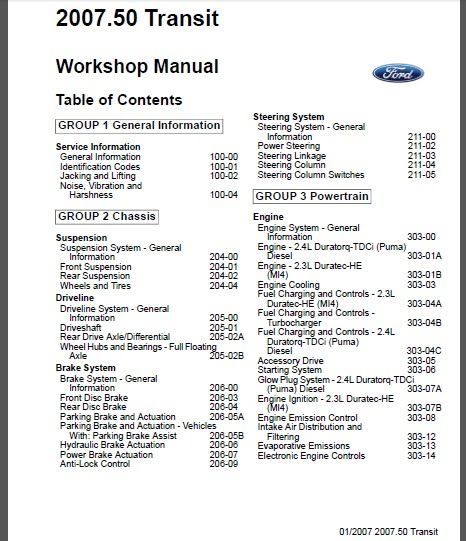 10 best ford automotive repair manuals images on pinterest auto transit service repair manual fandeluxe Images