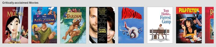 Netflix's method of scrolling can be adapted to Twitch's home page