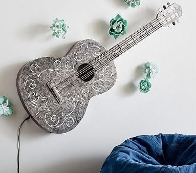 Junk Gypsy Guitar Light #pbkids