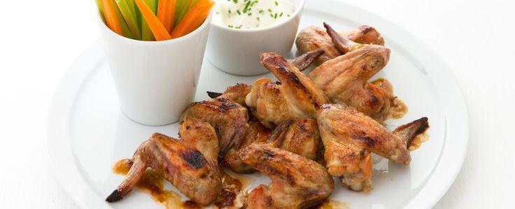 Karamelizovaná kuřecí křídla