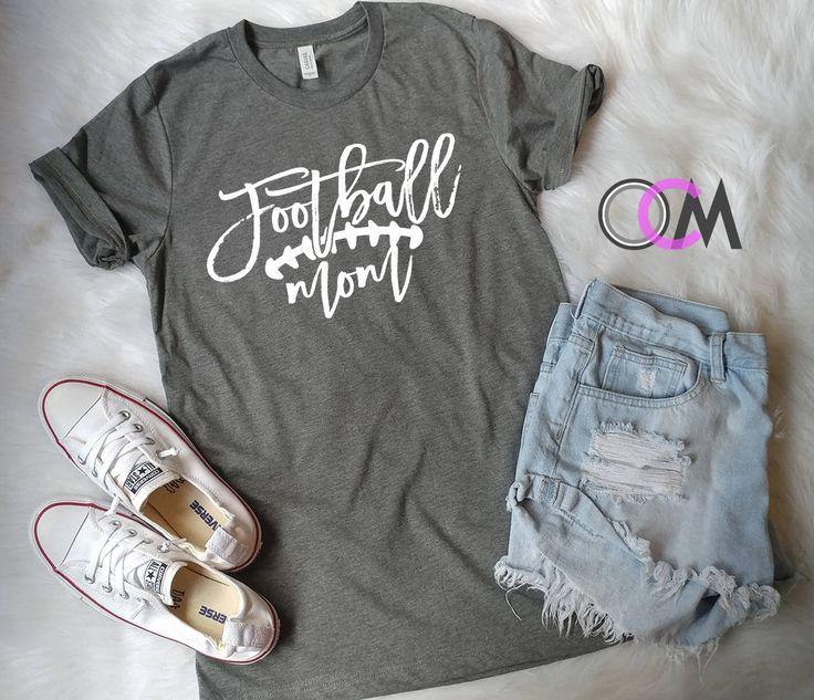 Football Mom Shirt, Proud Football Mom, Game Day Shirt