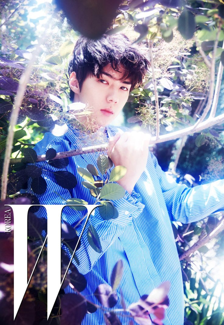 EXO Sehun - W Korea Magazine July Issue '16
