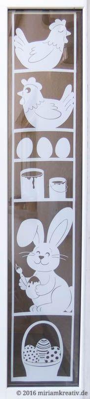 Oster-Tür – Miri's Kreativblog