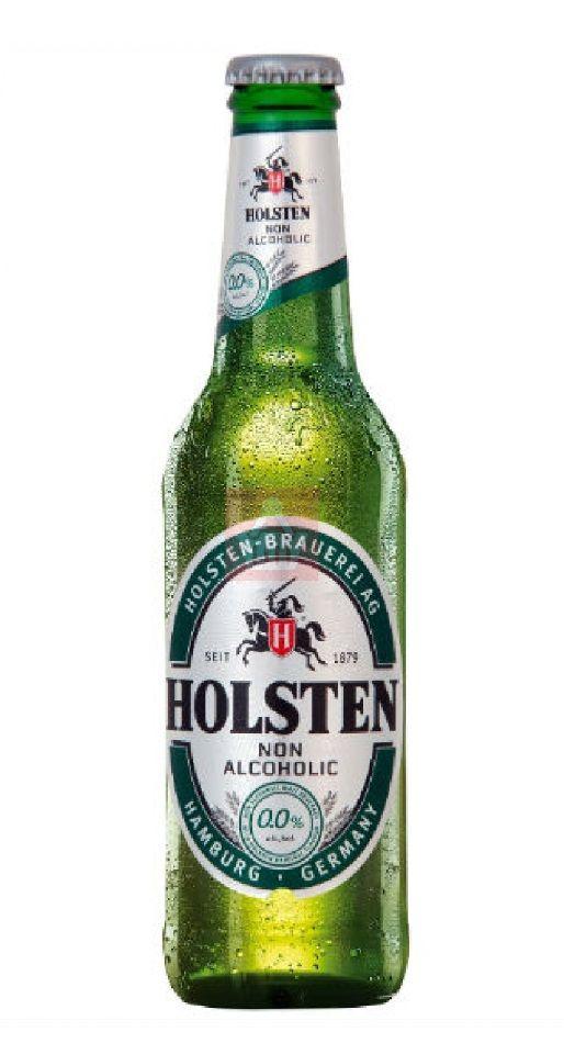 Holsten Non-Alcoholic, Low Alcohol 0,0% ABV (Allgäuer Brauhaus (Holsten-Brauerei (Carlsberg), Alemania)