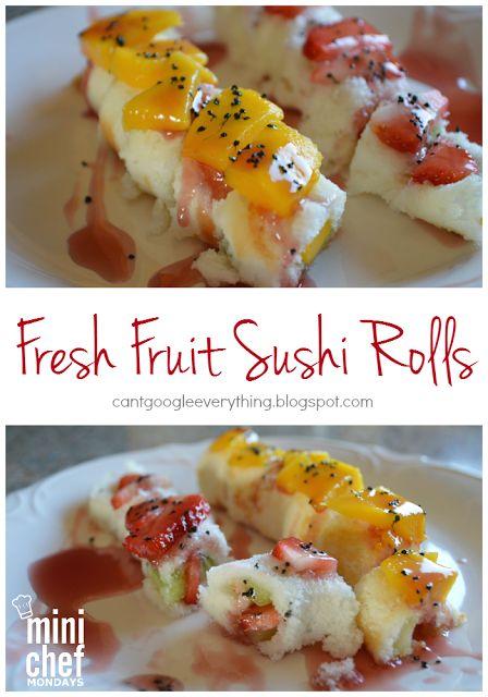 Fresh Fruit Sushi Recipe!