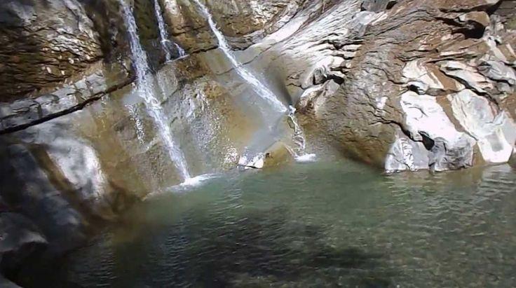 Turul cascadelor din județul Buzău, Romania