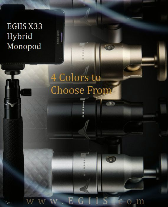 EGIIS X33 Hybrid Selfie Monopod 4 Fantastic Colors to choose from...   Team…