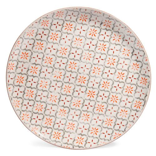 MADALENA earthenware dinner plate in red D 27cm £35.94 Sold by 6 namely £5.99 per item